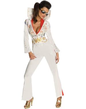 Déguisement d'Elvis pour femme