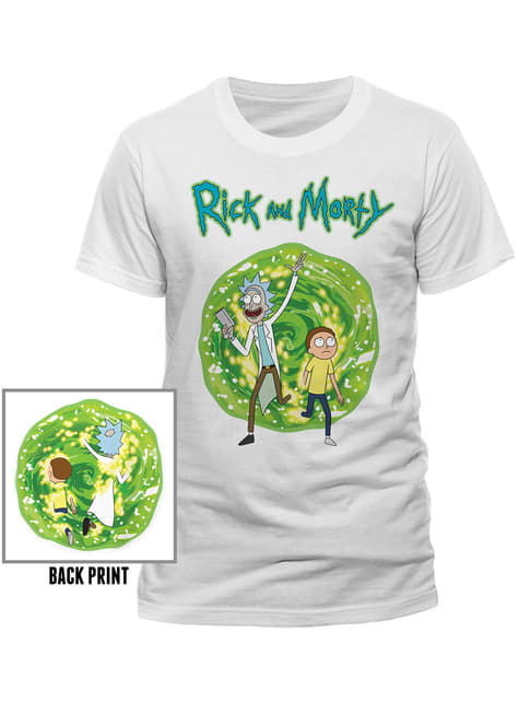 T-shirt de Rick and Morty Portal