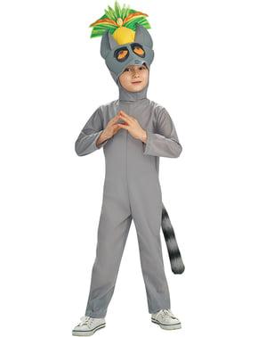 King Julien of the Penguins Madagascar Child Costume