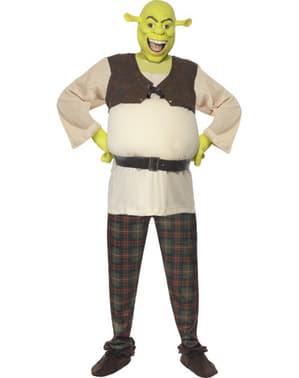 Fato de Shrek Deluxe adulto