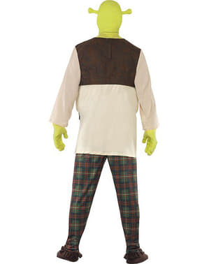Shrek deluxe kostume til voksne