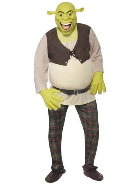 Kostým pro dospělé Shrek deluxe