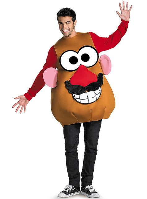 Унисекс костюм на г-н Картоф за възрастни