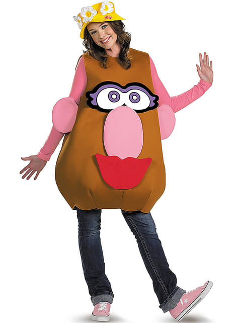Disfraz de Mr. Potato para adulto unisex  - adulto