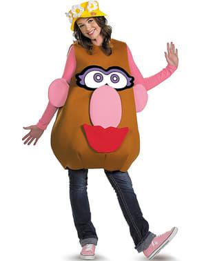 Mr. Potato maskeraddräkt för vuxen unisex