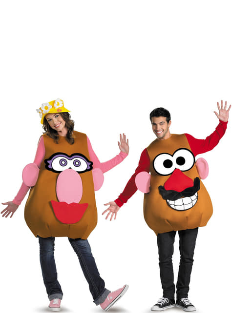 Disfraz de Mr. Potato para adulto unisex  - original