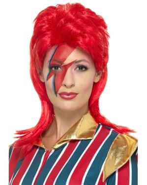 Perucă David Bowie pentru adulți