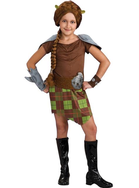 Shrek Fiona Kriger Kostyme Barn