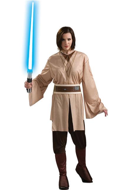 Fato de Jedi Star Wars para mulher