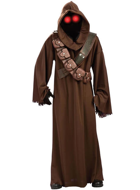 Jawa Star Wars Kostyme Voksen