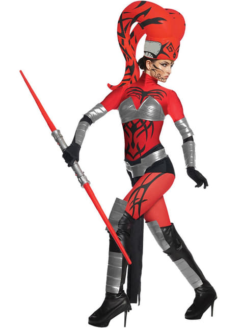 Fato de Dath Talon Star Wars Deluxe para mulher
