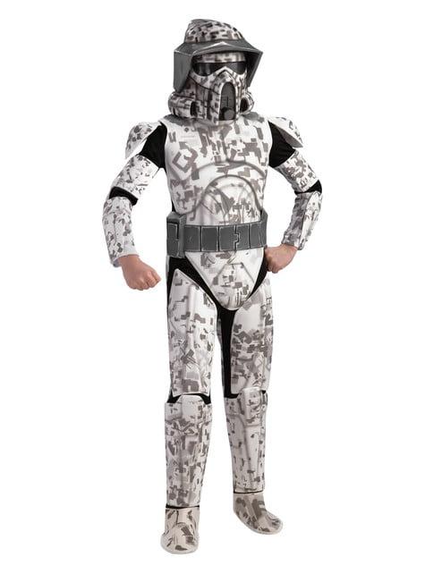 Disfraz de Arf Trooper Star Wars Deluxe para niño
