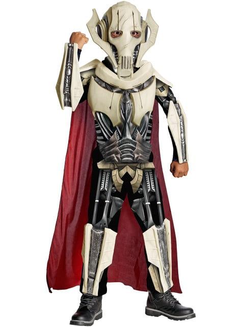 Deluxe General Grievous kostuum voor kinderen