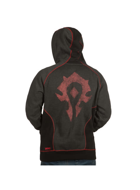 World of Warcraft Horde hoodie with zipper