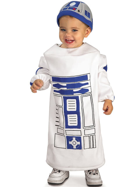 R2D2 Star Wars kostuum voor baby