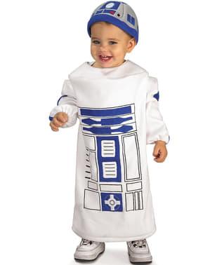 Costum R2D2 Star Wars pentru bebeluși