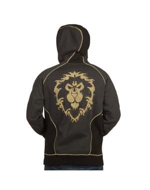 Sweatshirt com fecho de correr de World of Warcraft Aliança