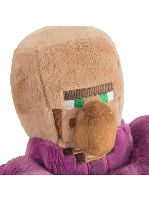 Peluche de Minecraft Aldeano Monje 30 cm