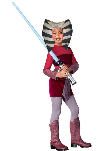 Fato de Ahsoka The Clone Wars infantil