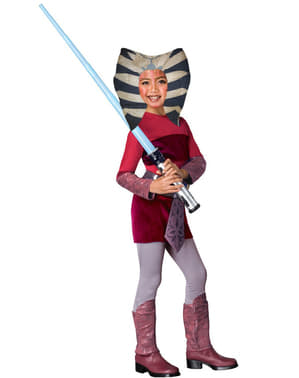 Kinderkostüm von Ahsoka aus The Clone Wars