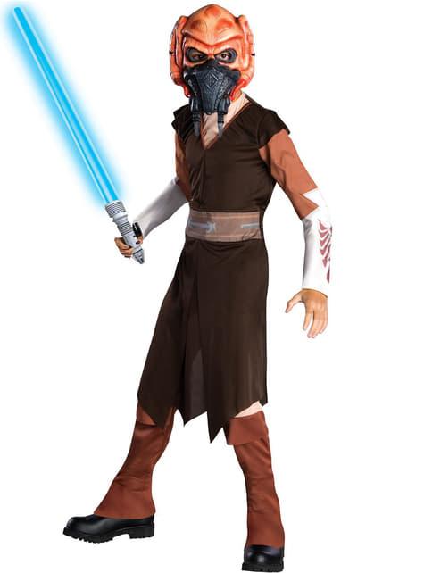 Costume Plo Koon Star Wars da bambini