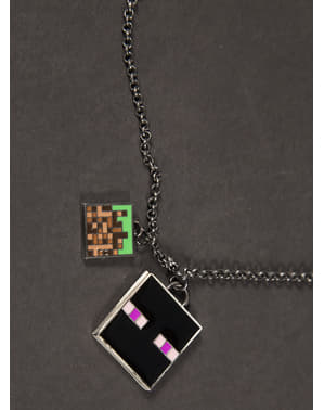 Collier Minecraft Enchanted Enderman
