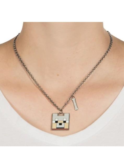 Collar de Minecraft Lobo Encantado