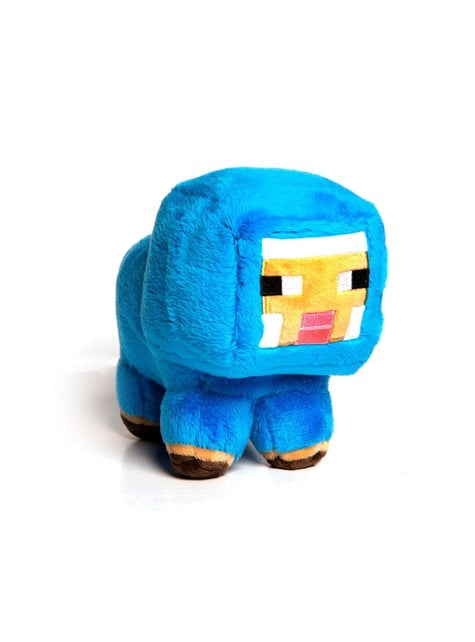 Minecraft blue baby sheep small Plush Toy 18 cm