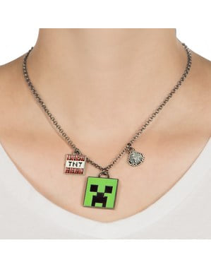 Náhrdelník Minecraft Enchanted Creeper