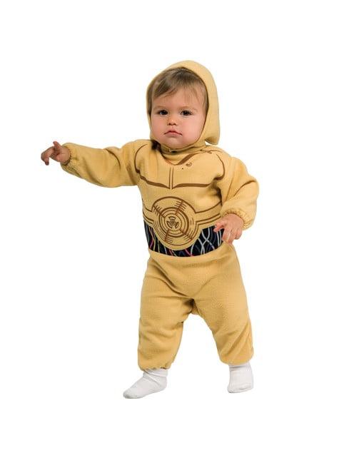 Dräkt Star Wars C-3PO till baby
