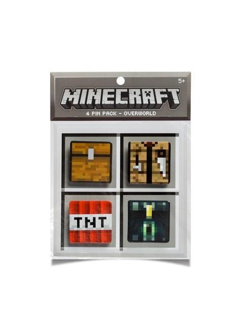 Balení 4 placek Minecraft