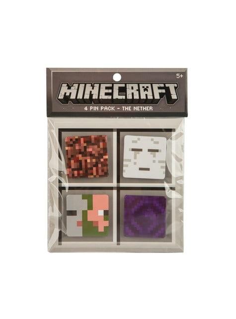 Balení 4 placek Minecraft Nether