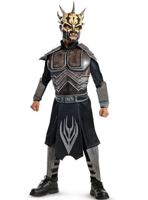 The Clone Wars Deluxe Savage Opress Kostyme Småbarn