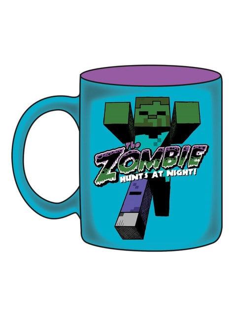 Taza de Minecraft Zombi
