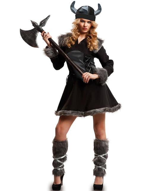 Disfraz de vikinga para mujer