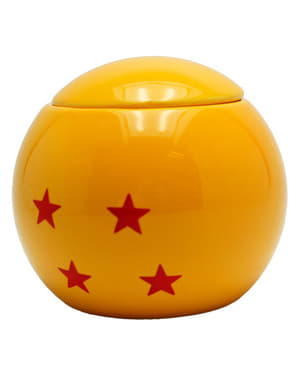 Dragon Ball Glaskugel 3D Tasse