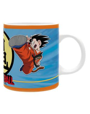 Caneca de Goku e Krilin