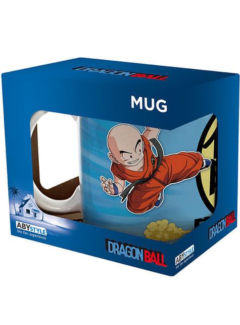 Taza de Goku y Krilin Dragon Ball - oficial