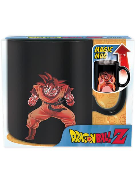Taza de Son Goku cambia color