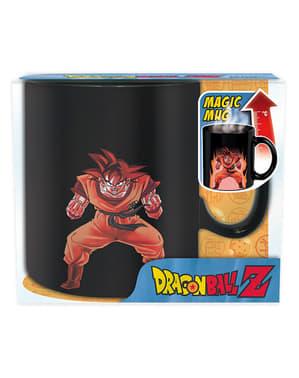 Cană Son Goku ce își schimbă culoarea