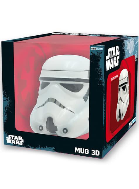 Taza 3D de Stormtrooper Star Wars - oficial