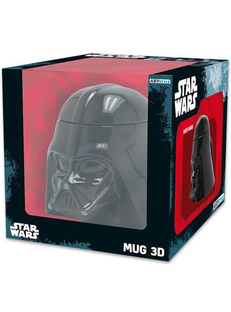 Taza 3D de Darth Vader - oficial