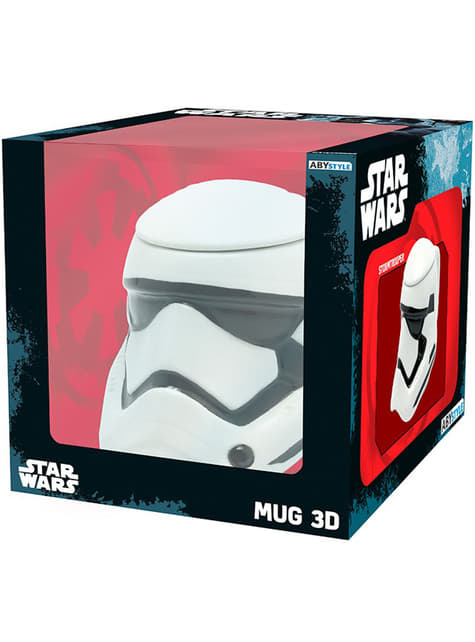 Taza 3D de Stormtrooper Star Wars: Episodio VII - oficial