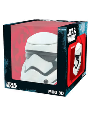 Taza 3D de Stormtrooper Star Wars: Episodio VII