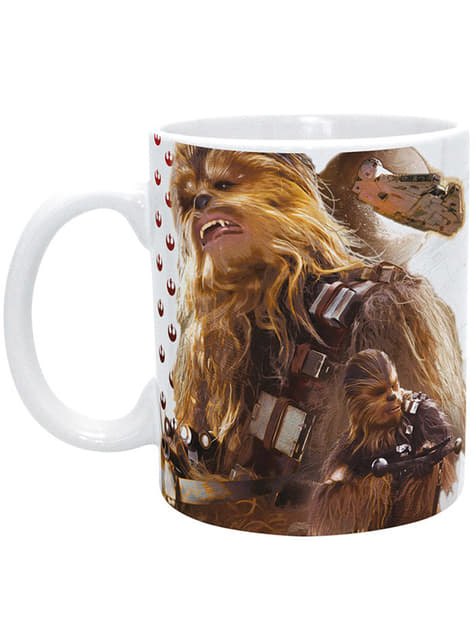 Taza de Chewbacca