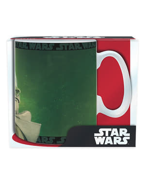 Caneca grande de Yoda