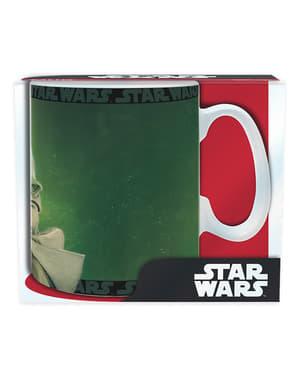 Mugg stor Yoda
