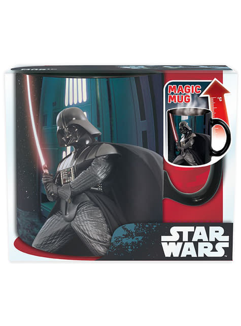 Taza grande de Darth Vader cambia color - oficial