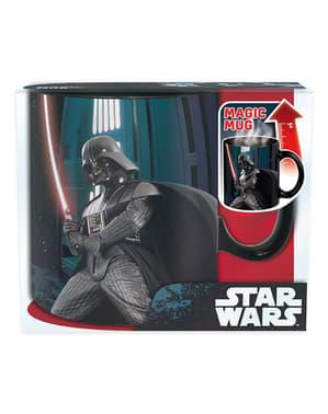 Caneca grande de Darth Vader muda de cor
