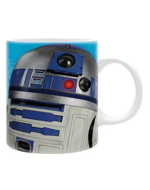 Pack cadou R2D2: cană, breloc și stickers - Star Wars